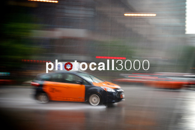 Chicago under the rain during the summer 2014<br /> Rafa Marrodán by photocall3000