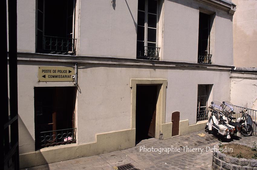 1989-1994; Issy Les Moulineaux; Centre Ville; Ancien Commissariat