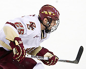 Matt Price (BC - 25) - The Boston College Eagles defeated the University of Massachusetts-Amherst Minutemen 6-5 on Friday, March 12, 2010, in the opening game of their Hockey East Quarterfinal matchup at Conte Forum in Chestnut Hill, Massachusetts.