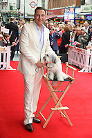 Pudsey and David Walliams<br /> arriving for the premiere of &quot;Pudsey the Dog the movie&quot; at the Vue cinema, Leicester Square, London. 13/07/2014 Picture by: Steve Vas / Featureflash