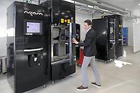 - Avio Aero, azienda ad alta tecnologia specializzata nella produzione di componenti aeronautiche con l'ausilio di macchine stampanti  3D<br /> <br /> - Avio Aero, high-tech company specialized in producing of aeronautical components with the help of 3D printers