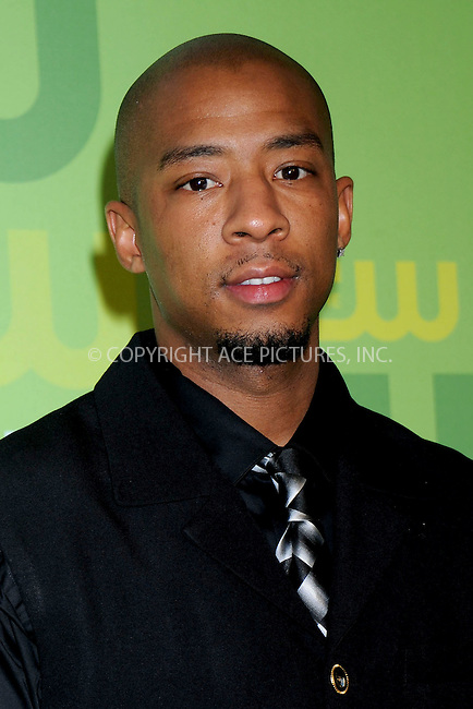 WWW.ACEPIXS.COM . . . . .....May 13, 2008. New York City.....Actor Antwon Tanner attends the CW Network Upfronts at Lincoln Center...  ....Please byline: Kristin Callahan - ACEPIXS.COM..... *** ***..Ace Pictures, Inc:  ..Philip Vaughan (646) 769 0430..e-mail: info@acepixs.com..web: http://www.acepixs.com