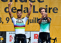 La Roche-sur-Yon place, France - July 5 : SAGAN Peter (SVK) of Bora - Hansgrohe during the official team presentation prior the 105th edition of the 2018 Tour de France cycling race on July 5, 2018 in La Roche-sur-Yon place, France, 5/07/2018  <br /> Ciclismo Tour De France 2018 <br /> Foto Photonews / Panoramic / Insidefoto <br /> ITALY ONLY