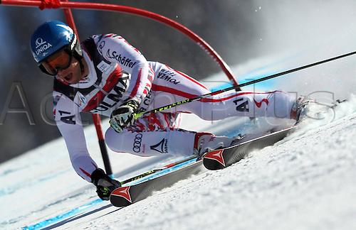 06.12.2011. Beaver Creek, USA. Ski Alpine FIS World Cup Giant slalom the men Picture shows Benjamin Raich AUT