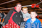 Wrestling Warriows On Tour: Attending the Wrestling Warriors On Tour event at the Listowel Community & Sports hall on Saturday night last were Patrick, Ricky & Patrick Jr O'Brien from Ballyduff.