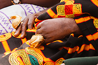 Africa, Ghana,Kumasi, gold jewelery for Ashanti people