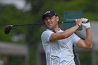 Martin Kaymer (GER) watches his tee shot on 11 during day 1 of the Valero Texas Open, at the TPC San Antonio Oaks Course, San Antonio, Texas, USA. 4/4/2019.<br /> Picture: Golffile | Ken Murray<br /> <br /> <br /> All photo usage must carry mandatory copyright credit (© Golffile | Ken Murray)