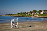Easton Beach / First Beach in Newport, Narragansett Bay, RI, USA