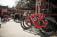 pre-race coffee ride (relaxed training day before the race)<br /> 108th Milano - Sanremo 2017