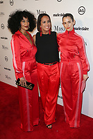 WEST HOLLYWOOD, CA - JANUARY 11: Karla Welch, Tracee Ellis Ross, Anne Fulenwider, at Marie Claire's Third Annual Image Makers Awards at Delilah LA in West Hollywood, California on January 11, 2018. Credit: Faye Sadou/MediaPunch