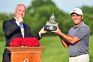 Bethesda, MD - July 1, 2018: Francesco Molinari wins the Quicken Loans National in record fashion finishing 21-under breaking the tournament record by seven shots at TPC Potomac at Avenel Farm in Bethesda, MD.  (Photo by Phillip Peters/Media Images International)