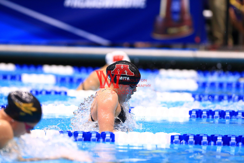 The University of Minnesota women's swimming and diving team compete at the 2017 NCAA National Swimming and Diving Championships in Indianapolis, IN. March 18, 2017<br /> (Photo by Walt Middleton Photography 2017)