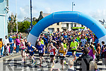 There off<br /> ------------<br /> A massive number of competitors turned up for the Ballybunion 10k and half marathon last Saturday pictured just at the start arch.