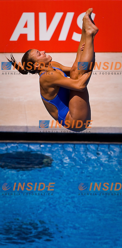 Roma 19th July 2009 - 13th Fina World Championships From 17th to 2nd August 2009.Women's 3m Springboard.Trampolino 3m femminile.Tania Cagnotto - Italy.photo: Roma2009.com/InsideFoto/SeaSee.com