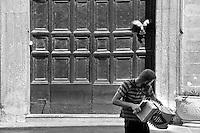 Lecce - Musica da strada - Corso Vittorio Emanuele