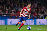Nikola Kalinic of Atletico de Madrid during the match between Atletico de Madrid and Borussia Dortmund of UEFA Champions League 2018-2019, group A, date 4 played at the Wanda Metropolitano Stadium. Madrid, Spain, 6 NOV 2018.