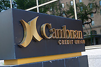 Cambrian Credit Union logo is pictured in Winnipeg Sunday May 22, 2011. Established in 1959, Cambrian Credit Union has more than $2 billion in assets and over 54,000 members.