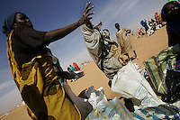 23000 thousand darfur refugees live in Jan 2005 in the Oure Casssoni Camp a few km north east of bahai in Chad.