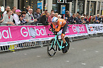 Jos Van Emden (NED) climbs Parliment Street during the Men Elite Individual Time Trial of the UCI World Championships 2019 running 54km from Northallerton to Harrogate, England. 25th September 2019.<br /> Picture: Seamus Yore | Cyclefile<br /> <br /> All photos usage must carry mandatory copyright credit (© Cyclefile | Seamus Yore)