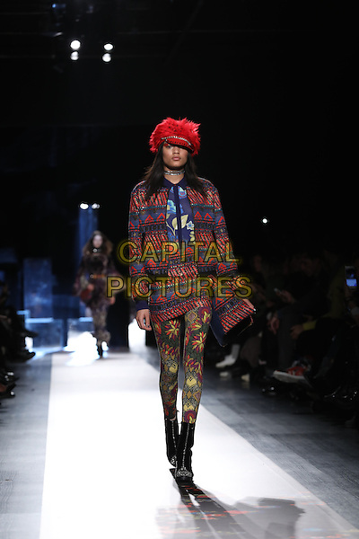 Desigual<br /> at Milan Fashion Week FW 17 18<br /> in Milan, Italy  February 2017.<br /> CAP/GOL<br /> &copy;GOL/Capital Pictures