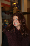 Debra Messing at The opening Night of Broadway's Gore Vidal's The Best Man on April 1, 2012 at the Gerald Schoenfeld Theatre, New York City, New York. (Photo by Sue Coflin/Max Photos)