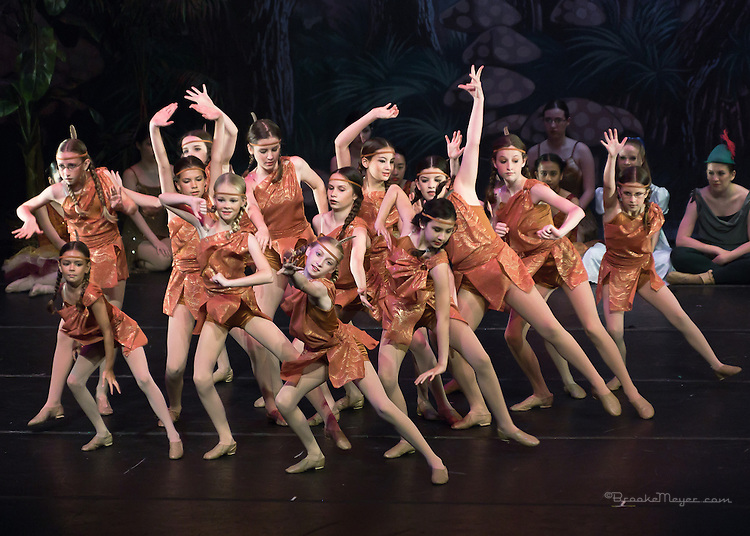 """Sunday Matinee, """"Flight To Neverland"""", the 2013 Annual Recital by the Cary Ballet Conservatory."""