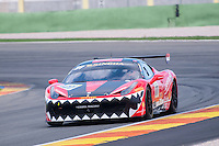 VALENCIA, SPAIN - OCTOBER 2: Fons Scheltema during Valencia Ferrari Challenge 2015 at Ricardo Tormo Circuit on October 2, 2015 in Valencia, Spain