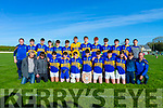 St Senans U16's North Kerry Championship winners who defeated Moyvane/Tarbert in the final played in Coolard on Sunday