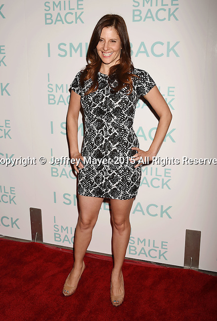 HOLLYWOOD, CA - OCTOBER 21: Actress Mia Barron arrives at the premiere of Broad Green Pictures' 'I Smile Back' at ArcLight Cinemas on October 21, 2015 in Hollywood, California.