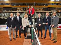 Februari 07, 2015, Apeldoorn, Omnisport, Fed Cup, Netherlands-Slovakia, Bondsbestuur<br /> Photo: Tennisimages/Henk Koster