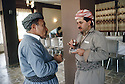 Irak 1991.Dr. Mahmoud Osman et Massoud Barzani.Iraq 1991.Dr. Mahmud Osman and Massood Barzani
