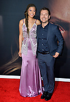 """LOS ANGELES, CA: 24, 2020: Storm Reid & Leigh Whannell at the premiere of """"The Invisible Man"""" at the TCL Chinese Theatre.<br /> Picture: Paul Smith/Featureflash"""