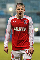 George Glendon of Fleetwood Town during the Sky Bet League 1 match between Gillingham and Fleetwood Town at the MEMS Priestfield Stadium, Gillingham, England on 27 January 2018. Photo by David Horn.