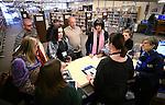 Belarus librarian visit
