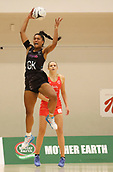 10th September 2017, PG Arena, Napier, New Zealand; Taini Jamison Netball Trophy, New Zealand versus England;  New Zealands Temalisi Fakahokotau