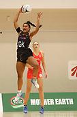 10th September 2017, PG Arena, Napier, New Zealand; Taini Jamison Netball Trophy, New Zealand versus England;  New Zealands Temalisi Fakahokotau