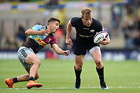 Nick Tompkins of Saracens in action. Premiership Rugby 7s (Day 2) on July 28, 2018 at Franklin's Gardens in Northampton, England. Photo by: Patrick Khachfe / Onside Images