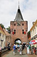 De oude stadspoort van Elburg