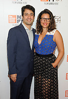 NEW YORK, NY - OCTOBER 01: Lin-Manuel Miranda(L) and Vanessa Nadal attends the 54th New York Film Festival - 'Manchester by the Sea' World Premiere at Alice Tully Hall at Lincoln Center on October 1, 2016 in New York City.Photo Credit: John Palmer/MediaPunch