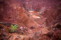 Parauapebas_PA, Brasil...Mina de Ouro desativada na Floresta Nacional de Carajas, Para..Gold Mine off at the Carajás National Forest, Para..Foto: JOAO MARCOS ROSA / NITRO
