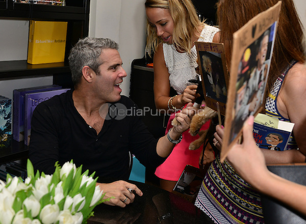 MIAMI, FL - NOVEMBER 06: Andy Cohen greets fans and signs copies of his paperback release 'The Andy Cohen Diaries: A Deep Look at a Shallow Year' at Books and Books At Adrienne Arsht Center on November 6, 2015 in Miami, Florida. Credit: MPI10 / MediaPunch