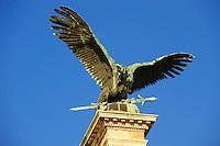Austro Hungarian Statue, Buda Castle, Budapest, Hungary