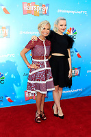 LOS ANGELES - JUN 9:  Kristin Chenoweth, Dove Cameron at the NBC's 'Hairspray Live!' FYC Event at the ATAS Saban Media Center on June 9, 2017 in North Hollywood, CA