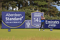 Henrik Stenson (SWE) on the 14th during Round 3 of the Aberdeen Standard Investments Scottish Open 2019 at The Renaissance Club, North Berwick, Scotland on Saturday 13th July 2019.<br /> Picture:  Thos Caffrey / Golffile<br /> <br /> All photos usage must carry mandatory copyright credit (© Golffile | Thos Caffrey)