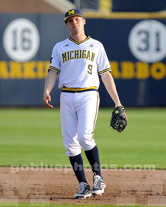 The University of Michigan baseball team beat Iowa, 5-4, at the Wilpon Complex in Ann Arbor, Mich., on May 3, 2013.