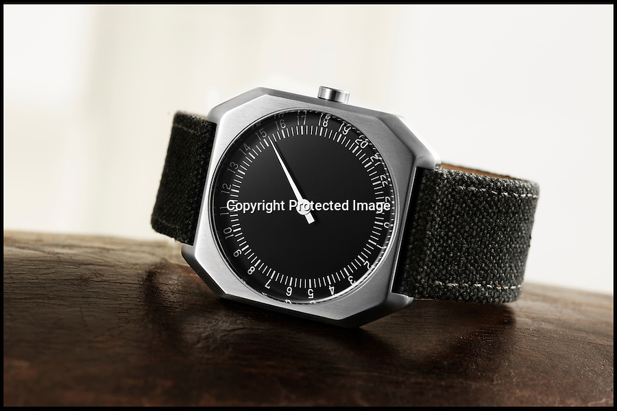BNPS.co.uk (01202 558833)<br /> Pic: Slow/BNPS <br /> <br /> The perfect antidote to frenetic modern life has been invented - a new watch that slows down your life, whilst still keeping perfect time.<br /> <br /> The Slow Watch Co from Switzerland have brought out a range of watches that slow down the hands by half as they circle the 24 hours on the face. <br /> <br /> So instead of spinning round twice in 24 hours the single hand slowly circle's only once. leaving the wearer more relaxed and with time on his side.