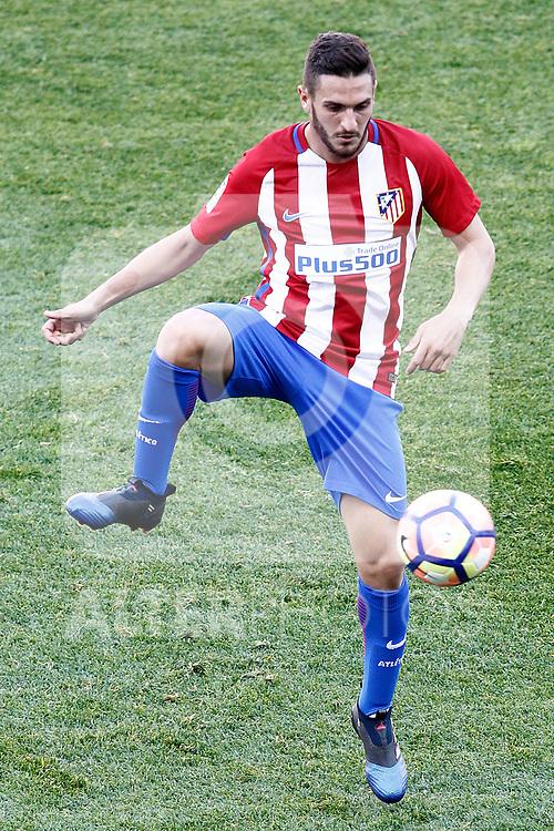 Atletico de Madrid's Koke Resurrecccion during La Liga match. March 19,2017. (ALTERPHOTOS/Acero)