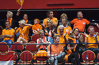The Netherlands, Den Bosch, 20.04.2014. Fed Cup Netherlands-Japan, supporters<br /> Photo:Tennisimages/Henk Koster