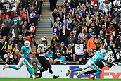 1st October 2017, Wembley Stadium, London, England; NFL International Series, Game Two; Miami Dolphins versus New Orleans Saints; Michael Thomas of the New Orleans Saints scores a touch down
