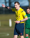Referee Barry Reid.
